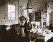 Thomas Edison Prints - Thomas Edison, American Inventor Print by Science Source