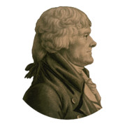 Thomas Jefferson Digital Art Metal Prints - Thomas Jefferson Metal Print by War Is Hell Store
