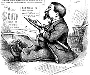 Cartoonist Photo Posters - Thomas Nast (1840-1902) Poster by Granger