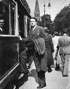 Clayton Photo Prints - Thomas Wolfe (1900-1938) Print by Granger