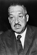 Mid-20th Framed Prints - Thurgood Marshall Framed Print by Granger