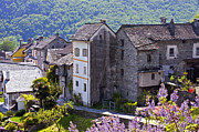 Old Building Metal Prints - Ticino Metal Print by Joana Kruse