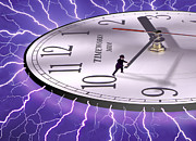 Clocks Digital Art - Time Stops For No One by Mike McGlothlen