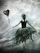 Heart Art - Time to let Go by Photodream Art