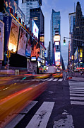 Long Street Framed Prints - Times Square, Theatre District, Manhattan, New York, Usa Framed Print by Ben Pipe Photography