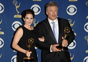 Tina Art - Tina Fey, Alec Baldwin In The Press by Everett