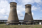Salt And Pepper Art - Tinsley Cooling Towers Demolition by Mark Sykes