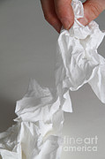 Blow Prints - Tissues Print by Photo Researchers, Inc.