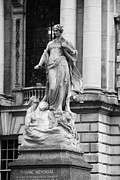 Brock Prints - Titanic memorial sculpture in the grounds of Belfast City Hall Belfast Northern Ireland UK Print by Joe Fox