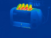 Toaster Prints - Toast, Thermogram Print by Tony Mcconnell