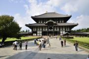 Temple Posters - Todaiji Temple Poster by Andy Smy