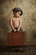 Problems Posters - toddler Leaving Home Poster by Yedidya yos mizrachi
