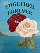 Special Occasion Painting Posters - Together Forever Poster by Eric Kempson