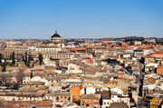 Rooftop Prints - Toledo Spain Print by John Greim