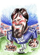 Goal Drawings - Tom Brady by Big Mike Roate
