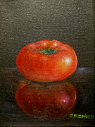 Jim  Romeo  - Tomato with Reflection