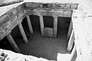 The Kings Photo Prints - Tomb 3 Of Tombs Of The Kings World Heritage Site Paphos Republic Of Cyprus Print by Joe Fox