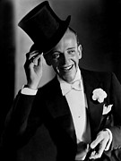 Lapel Framed Prints - Top Hat, Fred Astaire, 1935 Framed Print by Everett