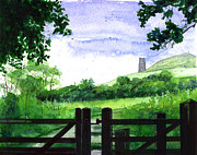 Tor Originals - Tor in Glastonbury by John D Benson