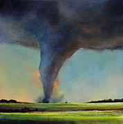 Toni Grote Framed Prints - Tornado on the Move Framed Print by Toni Grote