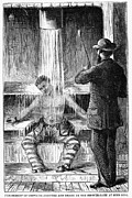 Punishment Prints - TORTURE AT SING SING c1869 Print by Granger