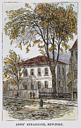 Synagogue Photos - Touro Synagogue, 1762 by Granger