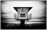 La Jolla Framed Prints - Tower 4 Framed Print by Tanya Harrison