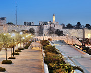 Jerusalem Photos - Tower of David by Noam Armonn