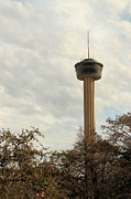 Tower Of The Americas Photos - Tower of the Americas by Sarah Broadmeadow-Thomas