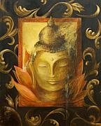 Buddhist Paintings - Transcendence by Dina Dargo