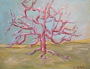 Tree Roots Painting Posters - Tree of Life Poster by Christine Rotolo