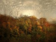 Treetops Print by Jessica Jenney