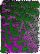 Trellis In The Mist Print by Tim Allen