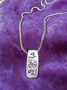 Bike Jewelry - Triathlon Pendant by Cydney Morel-Corton