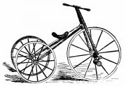 19th Century America Prints - TRICYCLE, 19th CENTURY Print by Granger