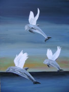 Acrylic On Canvas - True Angels by Eric Kempson