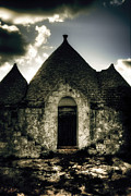 Stone House Photo Framed Prints - Trulli Framed Print by Joana Kruse