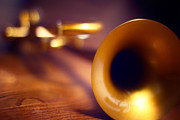 Trumpet Photo Originals - Trumpet by Robert Mirabelle
