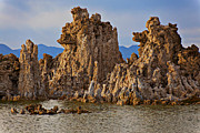 Mono Lake Framed Prints - Tufa Mono Lake California Framed Print by Garry Gay