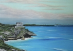 Photo Real Paintings - Tulum by Angel Ortiz