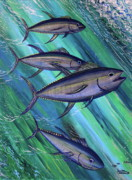 Gamefish Originals - Tuna Time by Marty  Calabrese