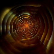 Fractal Digital Art - Tunnel by Klara Acel