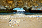 Clean Pyrography Prints - Two Rocks WA Print by Imagevixen Photography