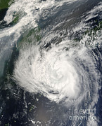 Honshu Photos - Typhoon Usagi by Nasa