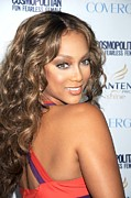 Cosmopolitan Metal Prints - Tyra Banks At Arrivals Metal Print by Everett