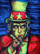 Uncle Sam Print by Hannah Curran