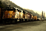 Wingsdomain Art and Photography - Union Pacific Locomotive Trains . 7D10563