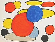 Mourlot Paintings - Untitled by Alexander Calder