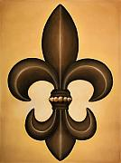 Fleur De Lis Pastels - Untitled by Brooke Psilos