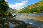 Martina Fagan Prints - Upper Lake at Glendalough Print by Martina Fagan